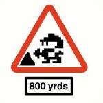 違和感なし?ゲームをモチーフにしたパロディ「標識」デザイン