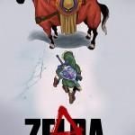 再現度高し!「AKIRA」風に描かれたゼルダの伝説のイラスト