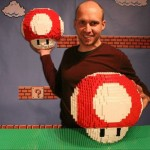 超・ビッグサイズ!レゴで作る、立体「スーパーキノコ」が出来るまで