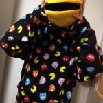 急に寒くなってきたので、パックマンの着る毛布を装備することにしました