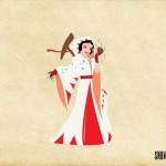 白雪姫は、白魔道士!?ディズニー・プリンセスたちをFFのジョブに例えてみたイラストがステキすぎる!