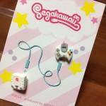 やっぱりカワイイ!「segakawaii」のドリームキャスト&ゲームギアピアスが届いたよ!