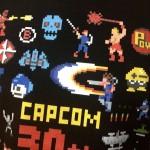 今日のゲームTシャツ:カプコン30周年記念、ゲームキャラデフォルメドット絵Tシャツ