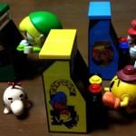 ちっちゃくてカワイイ!「レゴ」でカスタマイズして作られた、アーケードゲーム筐体フィギュアを買ってみたよ!