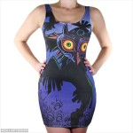 ミステリアス&セクシー!「ムジュラの仮面」デザインのドレス