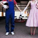 幸福なゲーマーカップルによる、「マリオとピーチ姫」のコスプレウエディング写真がうらやまステキすぎ!