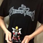 今日のゲームTシャツ:ハードコアチョコレート×ファイティングバイパーズTシャツ