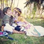 最高にキュート!ちびっ子2人による「ゼルダの伝説」子供時代のリンクとゼルダ姫のコスプレ