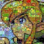 よ~く見てみて!「ゼルダの伝説」のゲーム画面を集めて作られたリンクのお顔