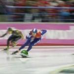 もしも、オリンピックのスピードスケート競技が「マリオカート」だったら…!?