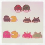 ゲーマー女子のおしゃれアイテム!ドット絵ピアス&レトロゲームピアスが「Poupee☆Webshop」に新入荷!
