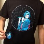 今日のゲームTシャツ:ドット絵の芸子さんが超おしゃれ!「ファミ詣 2014」Tシャツ