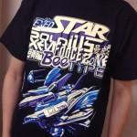 今日のゲームTシャツ:究極のごちゃ混ぜシューティング!「EXEDSTAR SOLDIUS曼蛇 XEVIFORCEZONE 頭脳BEETYPE」Tシャツ