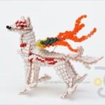 超ハイクオリティ!ちっちゃなビーズを編んで作られたゲームキャラ人形がスゴい!