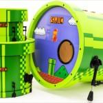 これ使ってぜひゲーム音楽を!「スーパーマリオ」デザインのドラムセット