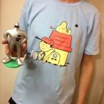 今日のゲームTシャツ:スヌーピー風「MOTHER2」Tシャツ