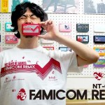THE KING OF GAMESより、ドット絵ファミコンキャラいっぱいの新作「ファミコンリミックス」Tシャツ6/13発売!