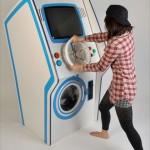 洗濯中の時間つぶしにゲームも出来ちゃう! 斬新なコンセプトのドラム式洗濯機