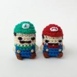 マリオやリンクなど、任天堂キャラをまんまるデフォルメしたミニミニ編みぐるみがカワイイ!