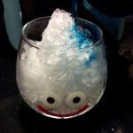 毎日暑いので「スライムゆらゆらグラス」を使って、キュートなスライムかき氷を作ってみた