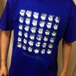 今日のゲームTシャツ:ドット絵ぎっしり!「ダウンタウン全員集合」Tシャツ
