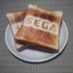 何これ欲しい!「SEGA」のロゴがくっきり焼ける、超レアなSEGAロゴトースター