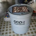 これは頑丈そう!「ドラム缶」をカスタマイズして作られたアーケードゲーム筐体
