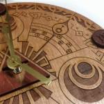 「ゼルダの伝説」モチーフを散りばめて…ハンドメイドの木製ウォールクロックがステキ!