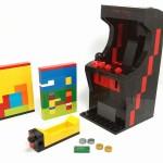 画面を変えて遊べちゃう!アーケード筐体をかたどった「レゴ」フィギュアのアイデア