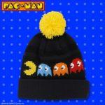 これからの季節にピッタリ!「パックマン」のニット帽やくつ下がプレミアムバンダイにて発売に!
