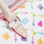 ちょっぴり高級感!ギークな女子向け、ドット絵デザインがおしゃれなハンドバッグ