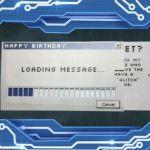 メッセージをロード中…?引き出すタイプの「ローディング」メッセージカード