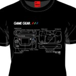 これまたクール!MARS16より新作セガハードTシャツ「ゲームギア」が発売に!