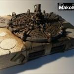 超ハイクオリティ!FF7の「ミッドガル」をプレイステーション本体の上に建造してしまった作品がすごい