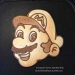 もったいなくて食べられない!超リアルなゲームキャラのお絵かきパンケーキ
