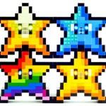 ピカピカ光ってあの音も鳴る!「レゴ」で組まれたスターやキノコの手づくりランプがステキ!