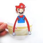 マリオがカップにちょこん?ティータイムを楽しくする素敵なアイデア