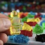 プルプル気持ちよさそう!「レゴ」のかたちの手づくりグミキャンディが超キレイ!
