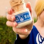 ビンがカワイイ!ゼルダの伝説のアイテム「ロンロン牛乳」型キャンドル