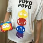 今日のゲームTシャツ:しまむら安心価格!「ぷよぷよ」ドット絵Tシャツ