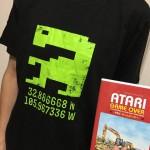 今日のゲームTシャツ:DVD『ATARI GAME OVER』の特典!「E.T.」ドット絵Tシャツ