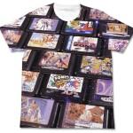 メガドライブカートリッジみっしりTシャツスゴい!まだまだあった、今年のゲームショウで先行販売されるセガ&ゼビウスグッズがアツい!