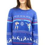 おしゃれすぎてヤバい!「ストリートファイター」のドット絵クリスマスセーターに新作デザインが登場!
