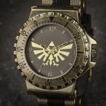 高級感あふれる仕上がり!ハイラルの紋章をあしらった「ゼルダの伝説」腕時計がカッコいい