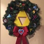 メリークリスマス!「ゼルダの伝説」アイテムで作られたクリスマスリースがカワイイ