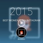 Instagramの写真で2015年を振り返る、「InsTrack」で動画を作ってみました!