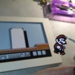 飛び出す立体感がステキ!「スーパーマリオブラザーズ3」の額入り3Dペーパークラフト