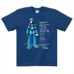 そういえば今まであまりなかった…「ロックマンX」の新作Tシャツ3種類が発売に!