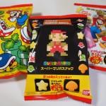 チーズとトマトで1UPピザ味!?ドット絵マリオのパッケージもかわいい「スーパーマリオスナック」を買ってきたよ!