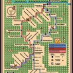 これはお見事!「スーパーマリオ3」マップ風に描かれた地下鉄の路線図